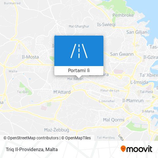 Mappa Triq Il-Providenza
