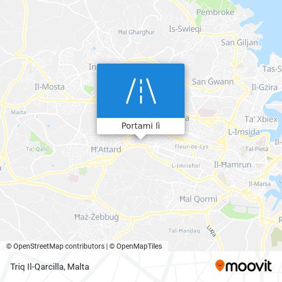 Mappa Triq Il-Qarcilla