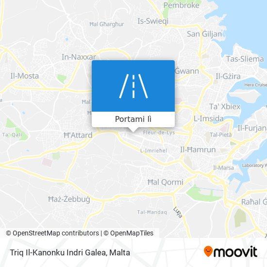 Mappa Triq Il-Kanonku Indri Galea