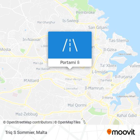 Mappa Triq S Sommier
