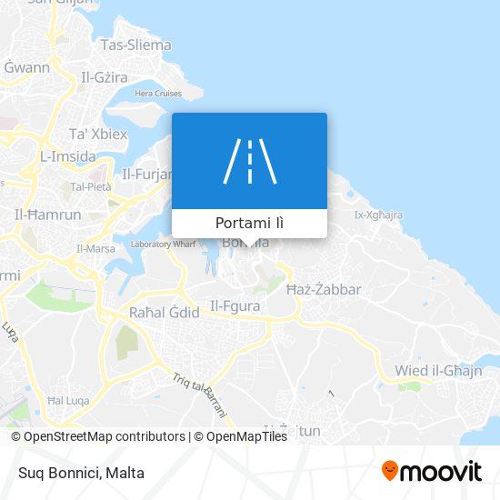 Mappa Suq Bonnici