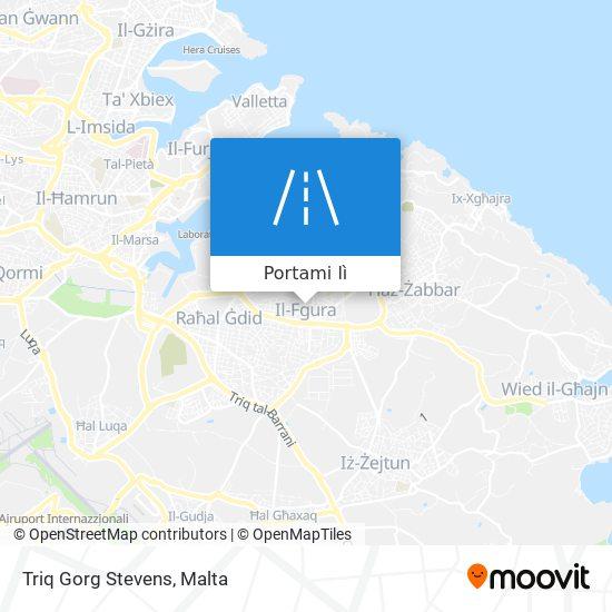 Mappa Triq Gorg Stevens