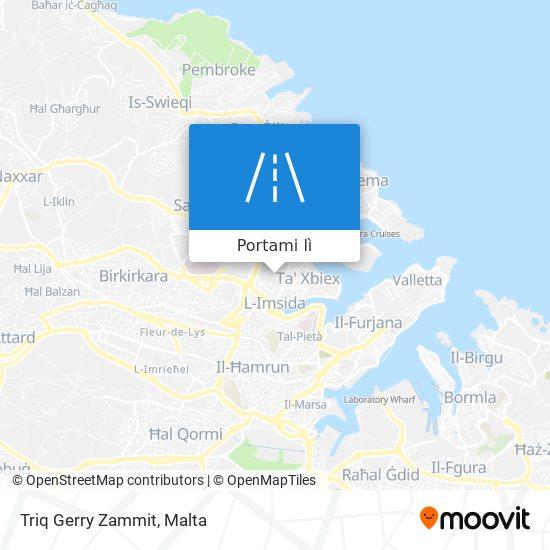 Mappa Triq Gerry Zammit