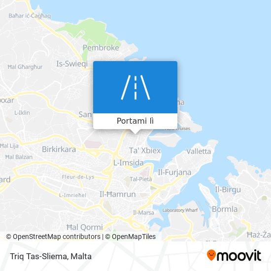 Mappa Triq Tas-Sliema