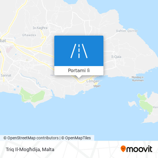 Mappa Triq Il-Mogħdija