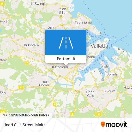 Mappa Indri Cilia Street