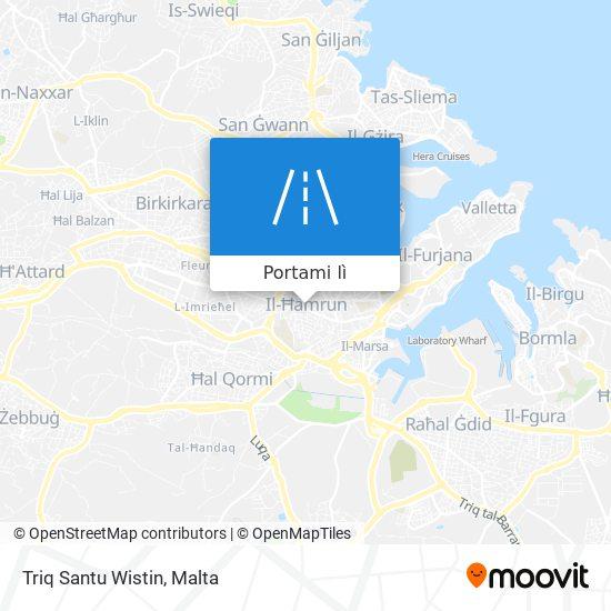 Mappa Triq Santu Wistin