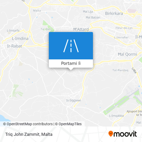 Mappa Triq John Zammit