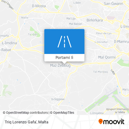 Mappa Triq Lorenzo Gafa'