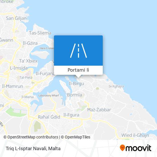 Mappa Triq L-Isptar Navali