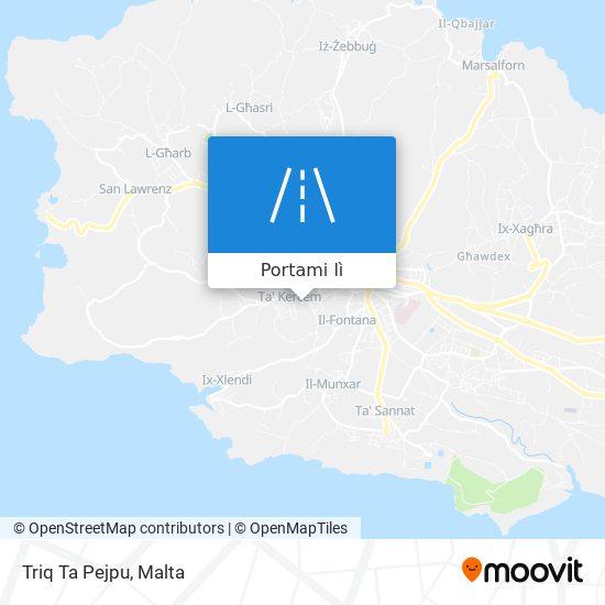 Mappa Triq Ta Pejpu