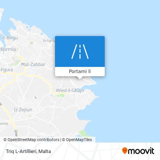 Mappa Triq L-Artillieri