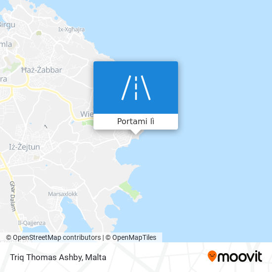 Mappa Triq Thomas Ashby