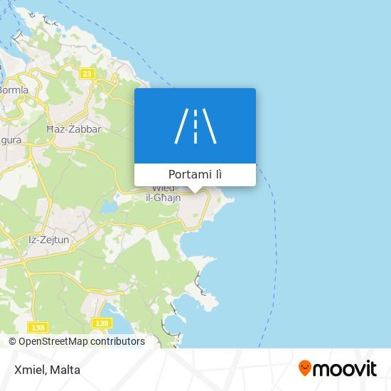 Mappa Xmiel