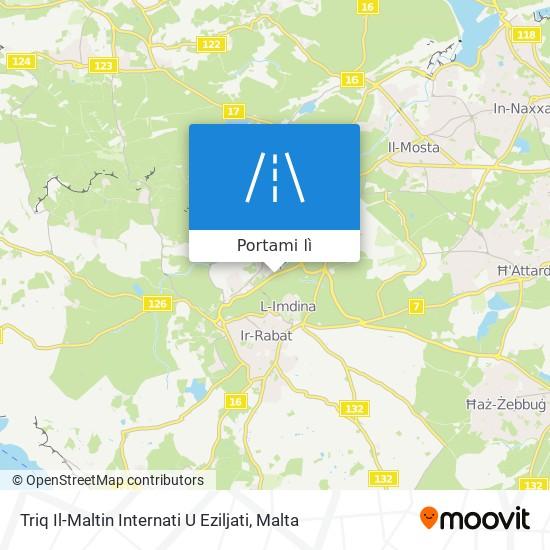 Mappa Triq Il-Maltin Internati U Eziljati