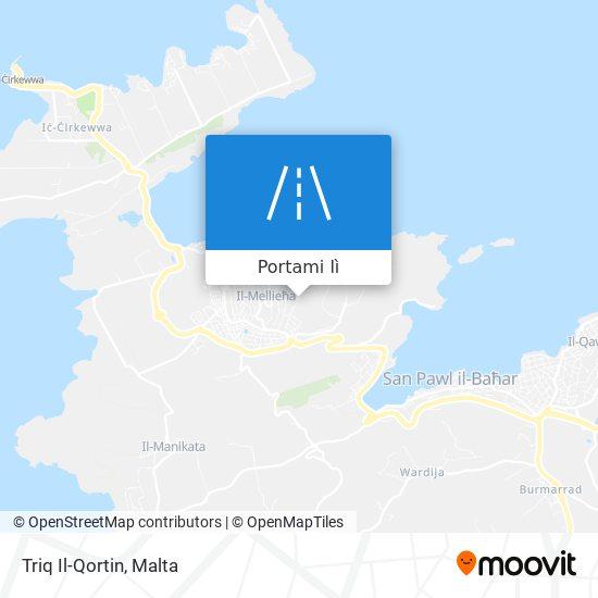 Mappa Triq Il-Qortin