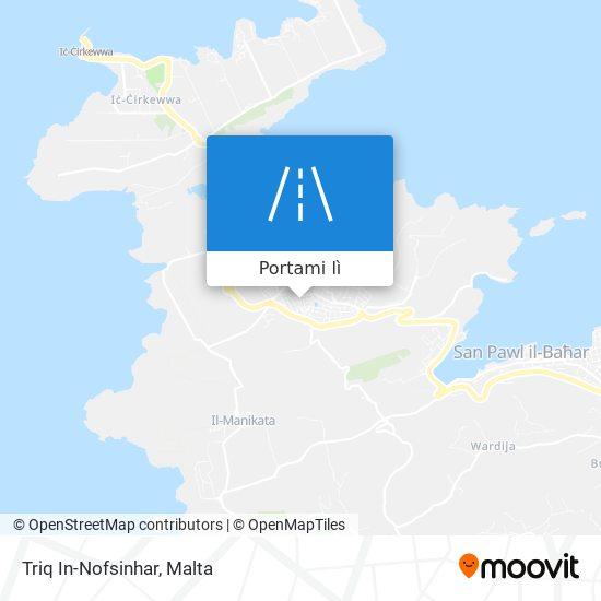 Mappa Triq In-Nofsinhar