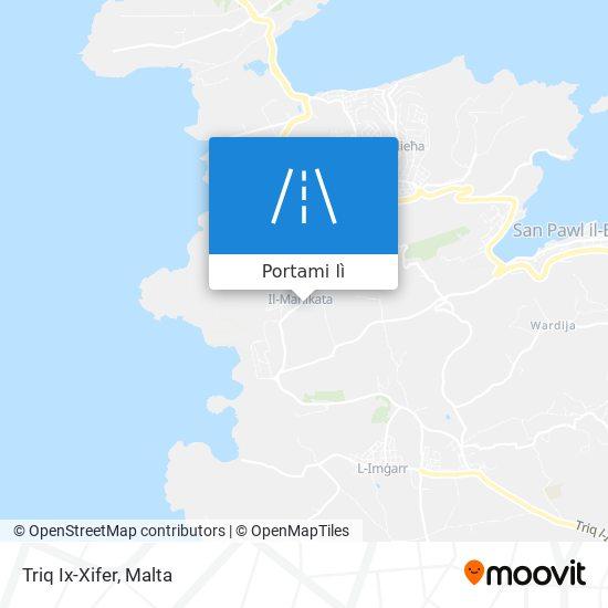 Mappa Triq Ix-Xifer