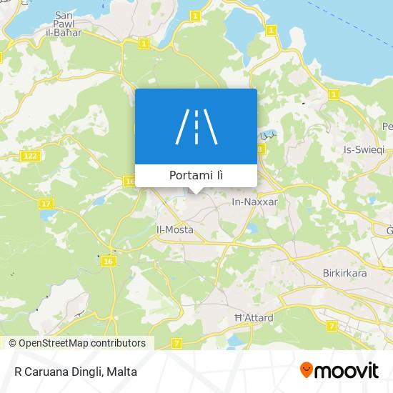 Mappa R Caruana Dingli