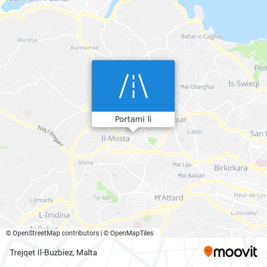 Mappa Trejqet Il-Buzbiez