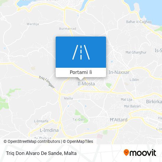 Mappa Triq Don Alvaro De Sande