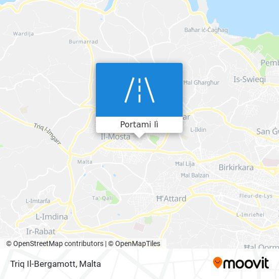 Mappa Triq Il-Bergamott