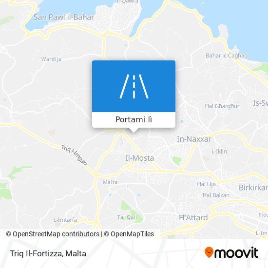 Mappa Triq Il-Fortizza