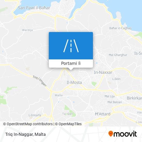 Mappa Triq In-Naggar