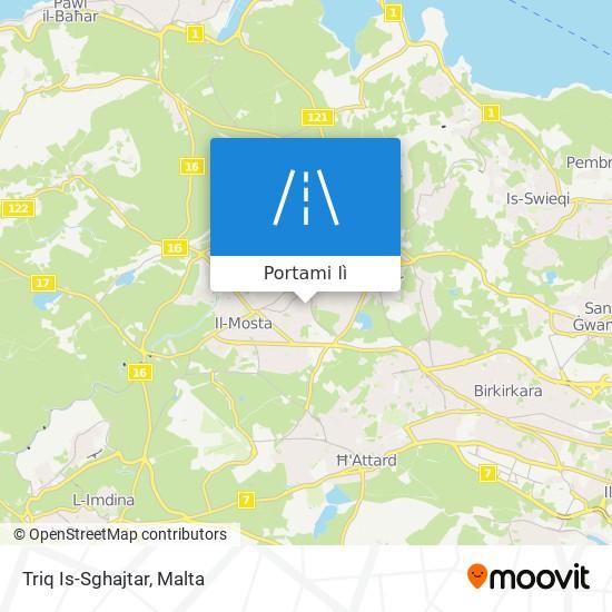 Mappa Triq Is-Sghajtar