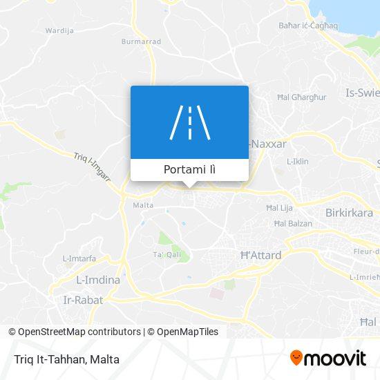 Mappa Triq It-Tahhan