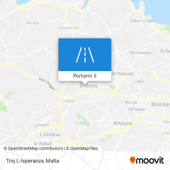 Mappa Triq L-Isperanza