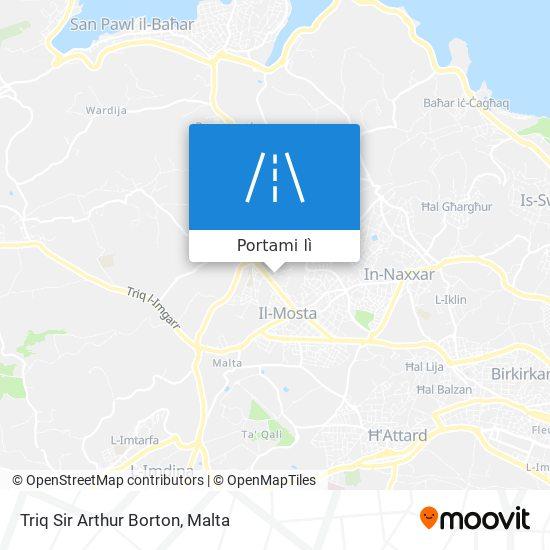 Mappa Triq Sir Arthur Borton