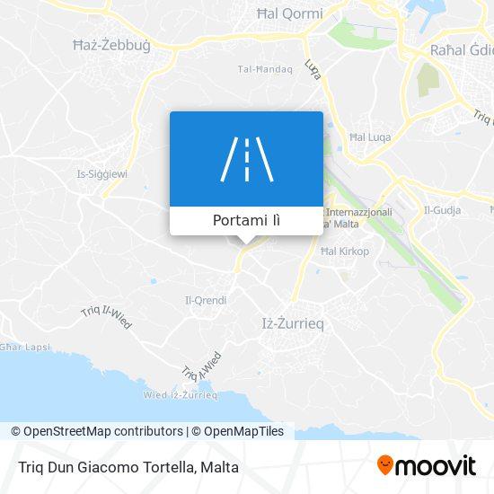 Mappa Triq Dun Giacomo Tortella