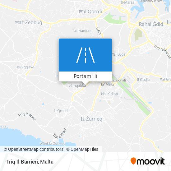 Mappa Triq Il-Barrieri