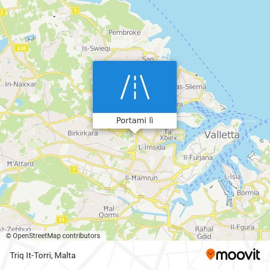 Mappa Triq It-Torri