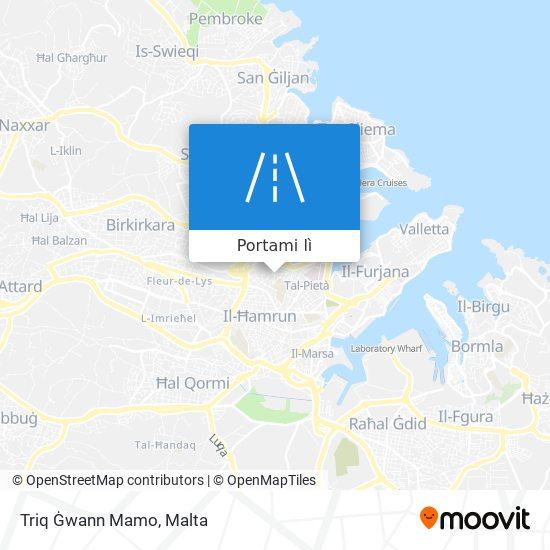 Mappa Triq Ġwann Mamo