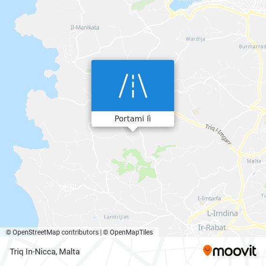 Mappa Triq In-Nicca