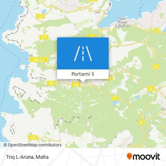 Mappa Triq L-Aruna
