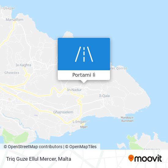 Mappa Triq Guze Ellul Mercer