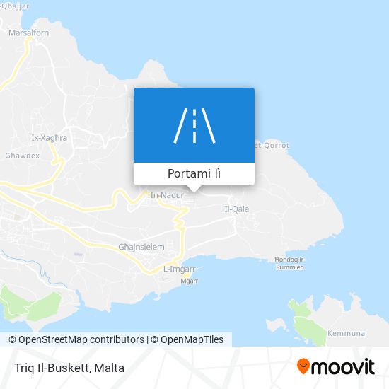 Mappa Triq Il-Buskett