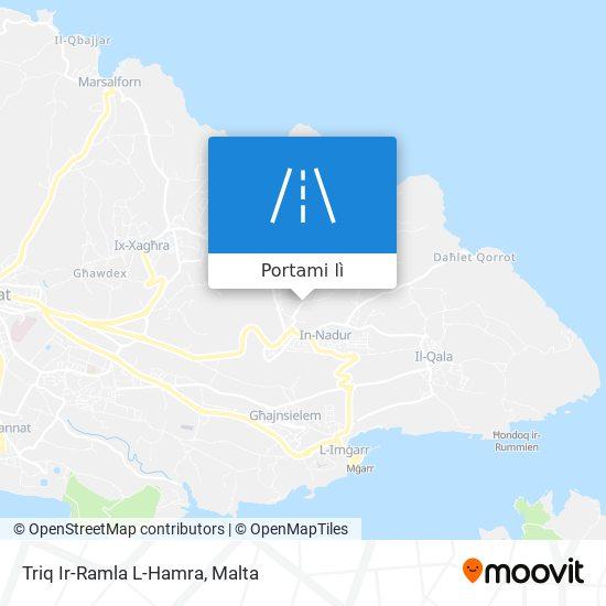 Mappa Triq Ir-Ramla L-Hamra