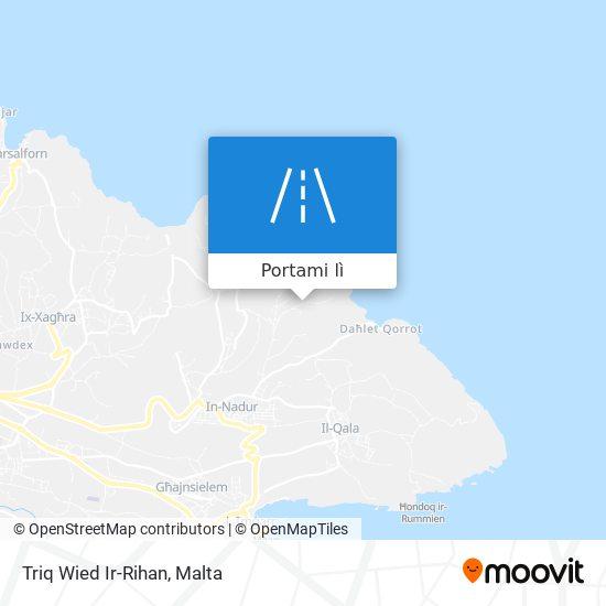 Mappa Triq Wied Ir-Rihan