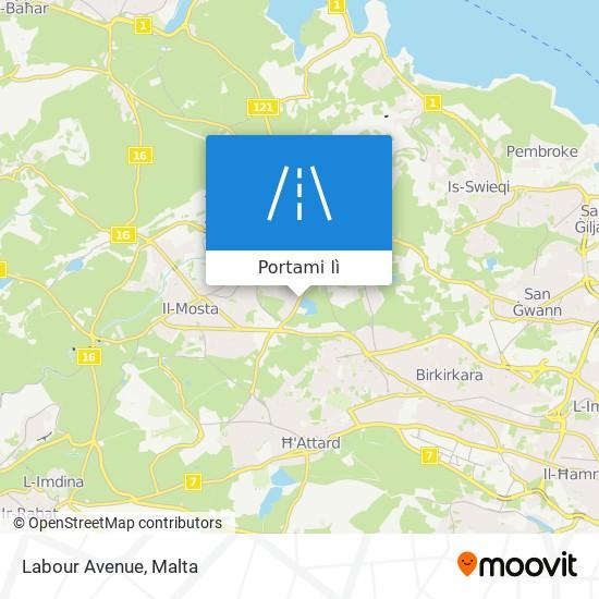 Mappa Labour Avenue