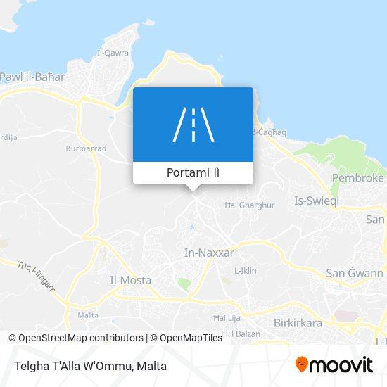 Mappa Telgha T'Alla W'Ommu