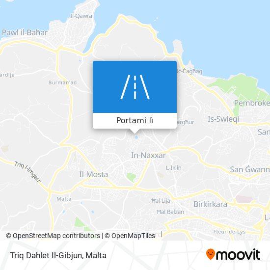 Mappa Triq Dahlet Il-Gibjun