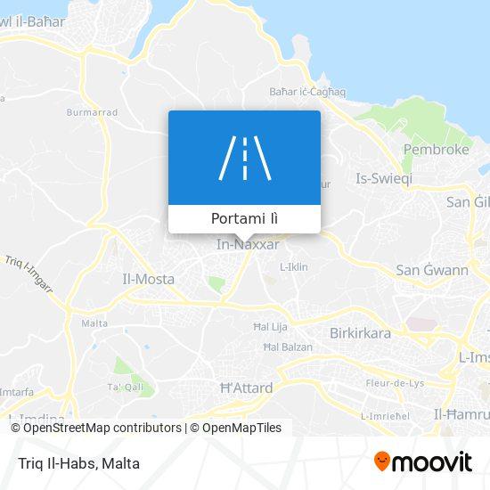 Mappa Triq Il-Habs
