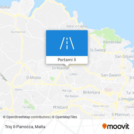 Mappa Triq Il-Parroċċa