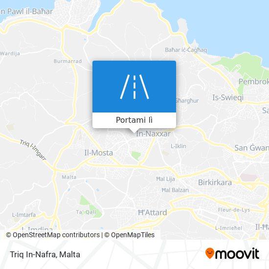 Mappa Triq In-Nafra