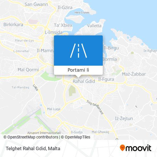 Mappa Telghet Rahal Gdid