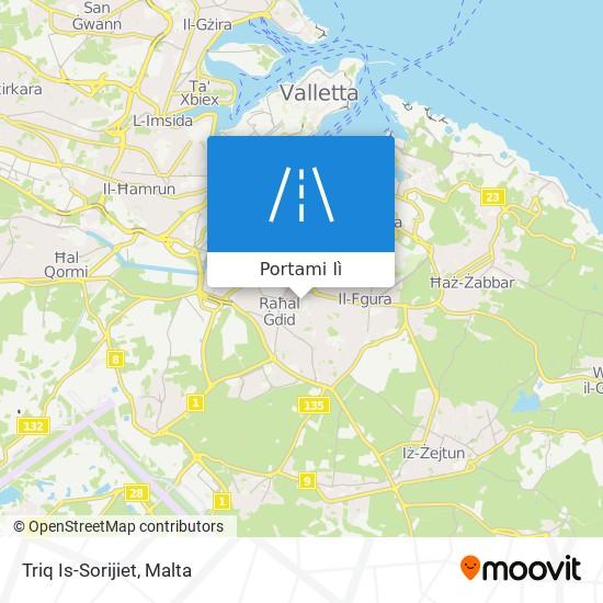Mappa Triq Is-Sorijiet